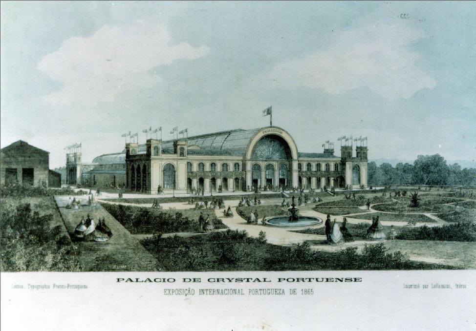 Gravura do Palácio de Cristal