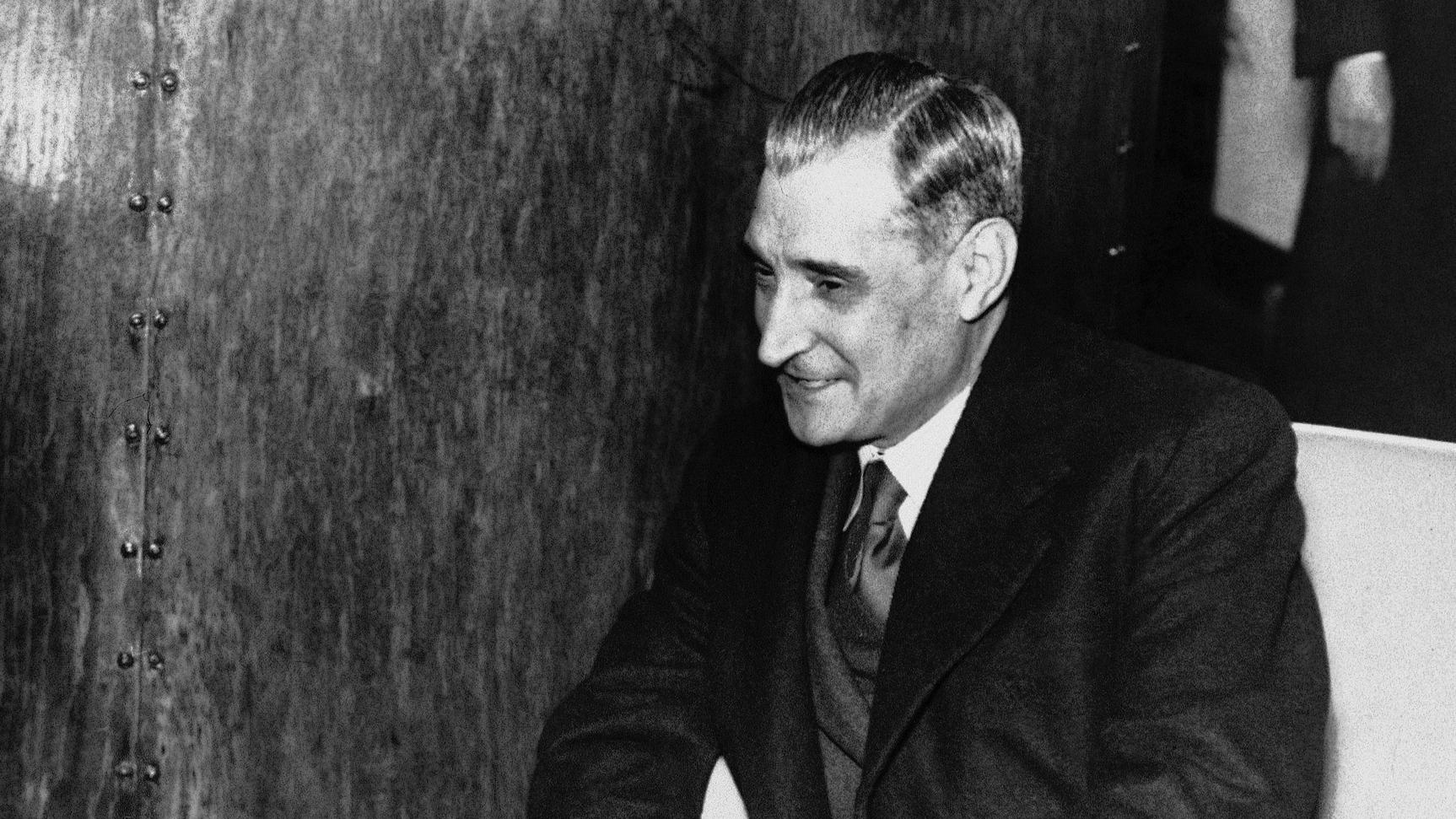 Portugal's dictator António de Oliveira Salazar